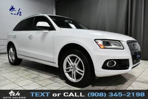 2017 Audi Q5 for sale at AUTO HOLDING in Hillside NJ
