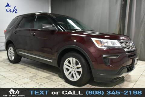 2018 Ford Explorer for sale at AUTO HOLDING in Hillside NJ