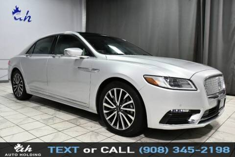2019 Lincoln Continental for sale at AUTO HOLDING in Hillside NJ
