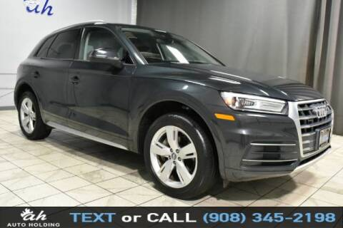 2018 Audi Q5 for sale at AUTO HOLDING in Hillside NJ