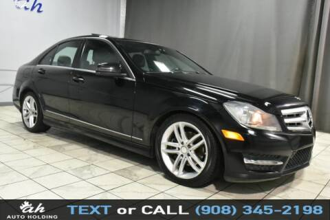2012 Mercedes-Benz C-Class for sale at AUTO HOLDING in Hillside NJ