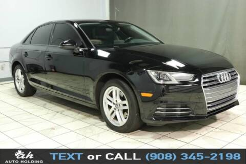 2017 Audi A4 for sale at AUTO HOLDING in Hillside NJ