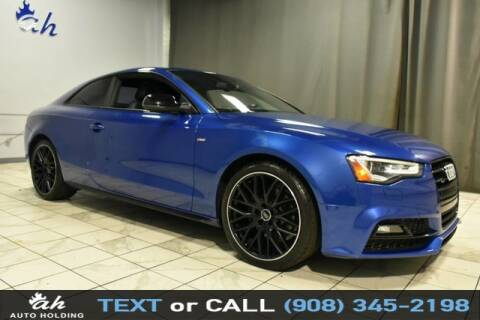 2017 Audi A5 for sale at AUTO HOLDING in Hillside NJ