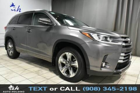 2018 Toyota Highlander for sale at AUTO HOLDING in Hillside NJ