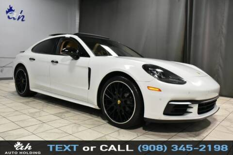 2017 Porsche Panamera for sale at AUTO HOLDING in Hillside NJ