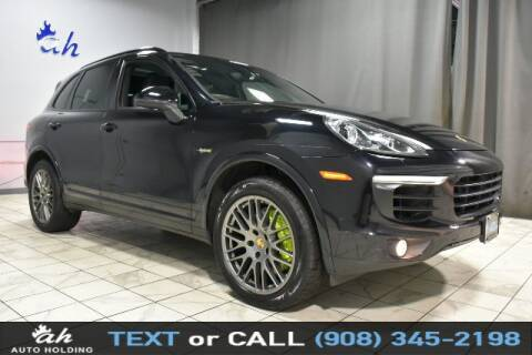 2017 Porsche Cayenne for sale at AUTO HOLDING in Hillside NJ