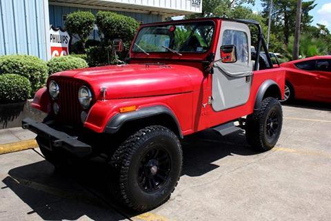 1984 Jeep CJ-7 for sale in Pasadena, TX