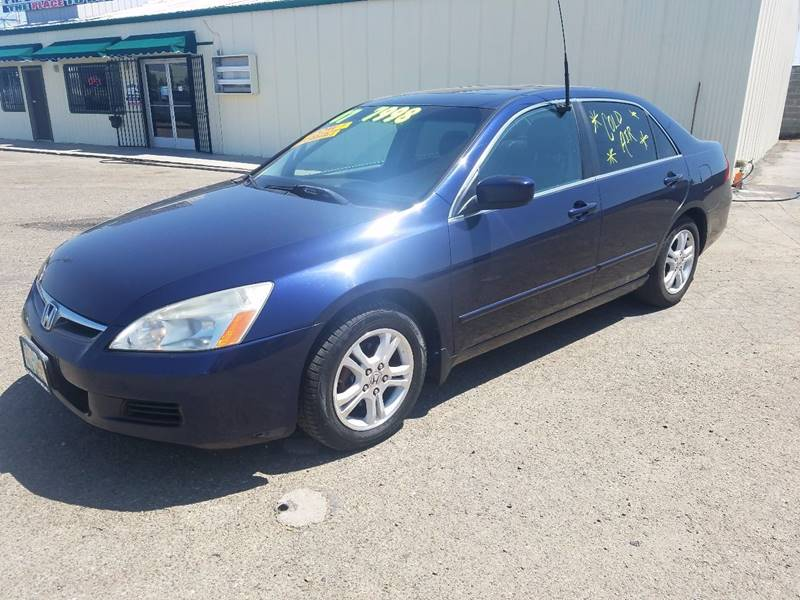 2007 Honda Accord EX-L 4dr Sedan (2.4L I4 5A) - Modesto CA