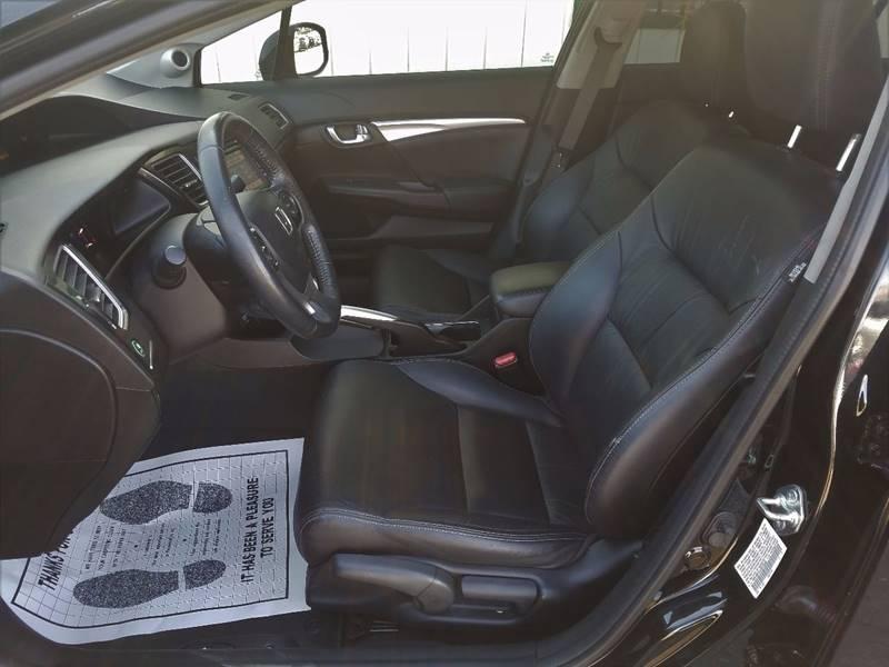 2013 Honda Civic EX-L 4dr Sedan w/Navi - Modesto CA