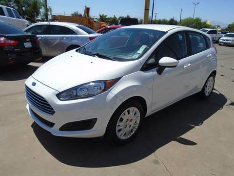 2016 Ford Fiesta for sale at Alien Auto Sales in Henderson NV