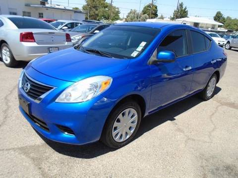 2012 Nissan Versa for sale at Alien Auto Sales in Henderson NV