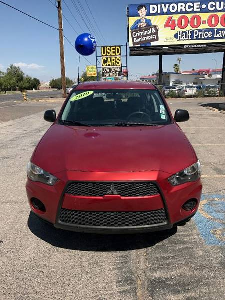 2010 Mitsubishi Outlander for sale at Alien Auto Sales in Henderson NV