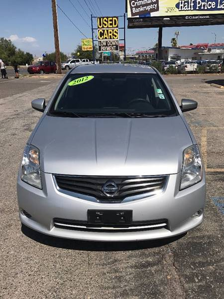 2012 Nissan Sentra for sale at Alien Auto Sales in Henderson NV