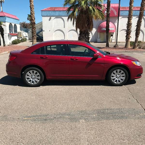 2014 Chrysler 200 for sale at Alien Auto Sales in Henderson NV