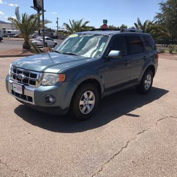 2010 Ford Escape for sale at Alien Auto Sales in Henderson NV