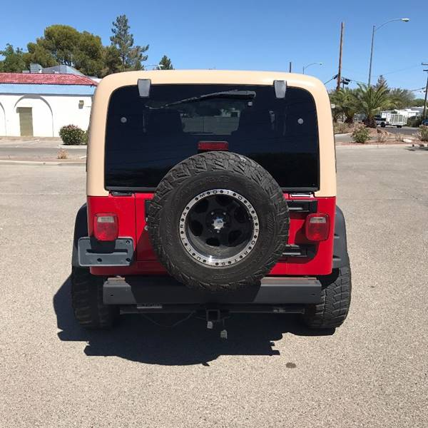 2006 Jeep Wrangler for sale at Alien Auto Sales in Henderson NV