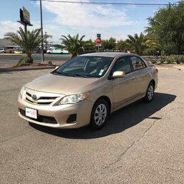 2011 Toyota Corolla for sale in Henderson, NV