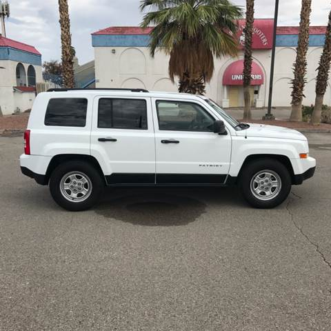 2013 Jeep Patriot for sale at Alien Auto Sales in Henderson NV