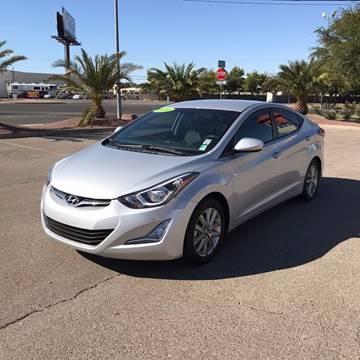 2014 Hyundai Elantra for sale in Henderson, NV
