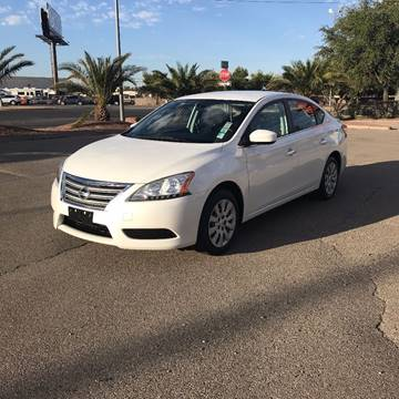 2013 Nissan Sentra for sale at Alien Auto Sales in Henderson NV