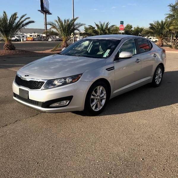 2012 Kia Optima for sale at Alien Auto Sales in Henderson NV
