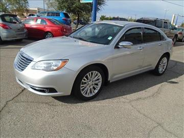 2012 Chrysler 200 for sale at Alien Auto Sales in Henderson NV