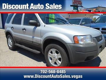 2002 Ford Escape for sale in Henderson, NV