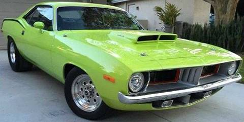 1973 Plymouth Barracuda for sale in Pacoima, CA