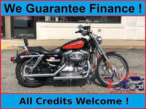 2008 Harley-Davidson XL1200C Sportster 1200 Custom for sale in Marlborough, MA