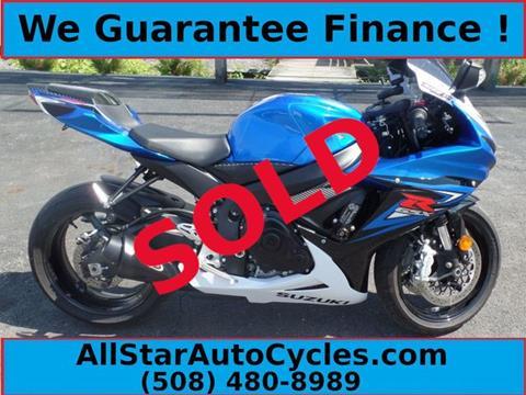 2014 Suzuki GSX-R600 for sale in Marlborough, MA