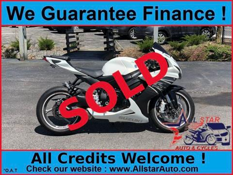 2011 Suzuki GSX-R600 for sale in Marlborough, MA