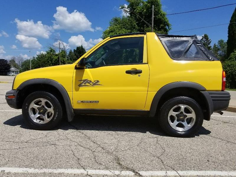 2002 Chevrolet Tracker Zr2 In Kenosha  Wi