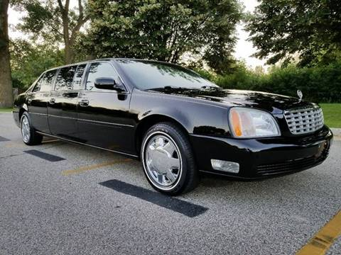 2002 Cadillac Deville S&S Coach Limousine for sale at Affordable Auto Sales of Kenosha in Kenosha WI