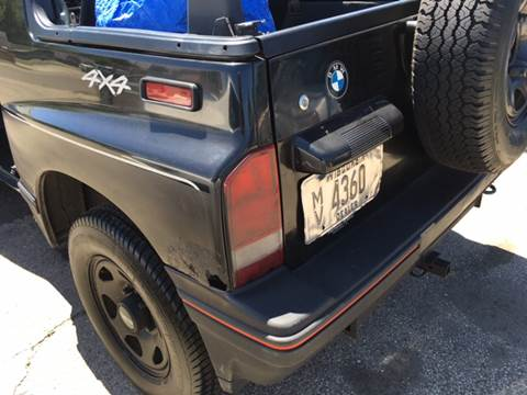 1995 GEO Tracker for sale at Affordable Auto Sales of Kenosha in Kenosha WI