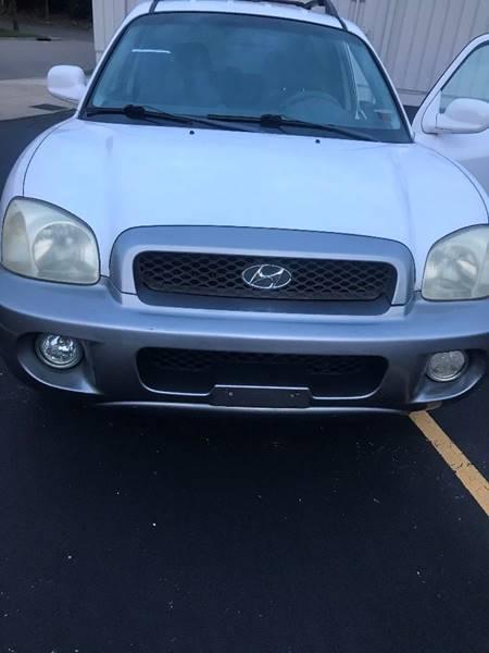 2001 Hyundai Santa Fe For Sale At Car Kings International In Cincinnati OH
