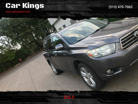 2008 Toyota Highlander for sale at Car Kings in Cincinnati OH