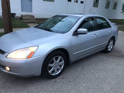 2003 Honda Accord for sale at Car Kings in Cincinnati OH