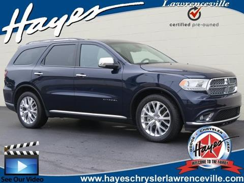 2015 Dodge Durango for sale in Lawrenceville, GA