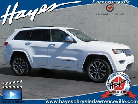 2017 Jeep Grand Cherokee for sale in Lawrenceville, GA
