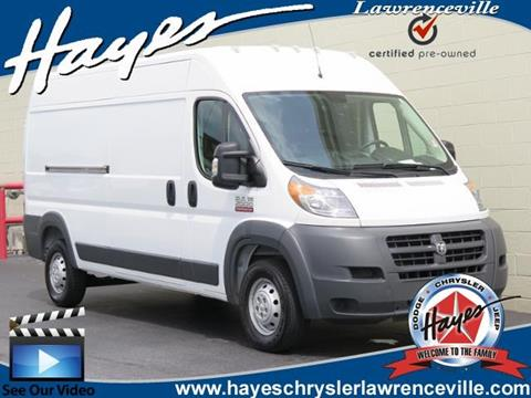 2017 RAM ProMaster Cargo for sale in Lawrenceville, GA