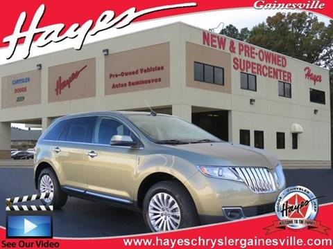 2013 Lincoln MKX for sale in Gainesville, GA