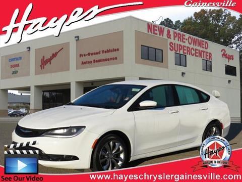 2015 Chrysler 200 for sale in Gainesville, GA