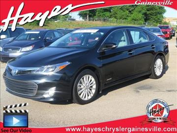 2013 Toyota Avalon Hybrid for sale in Gainesville, GA