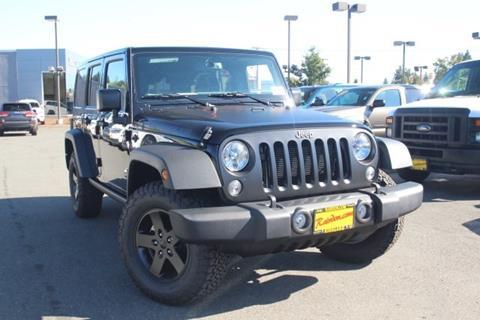 2017 Jeep Wrangler Unlimited for sale in Kirkland, WA