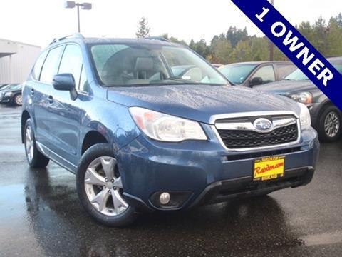 2014 Subaru Forester for sale in Kirkland, WA