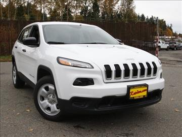 2017 Jeep Cherokee for sale in Kirkland, WA