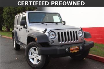 2014 Jeep Wrangler Unlimited for sale in Kirkland, WA