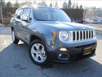 2017 Jeep Renegade for sale in Kirkland, WA