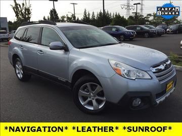 2013 Subaru Outback for sale in Auburn, WA