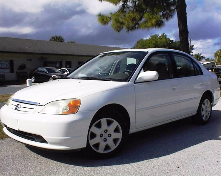 2002 honda civic ex 4dr sedan in vero beach fl jm auto sales. Black Bedroom Furniture Sets. Home Design Ideas